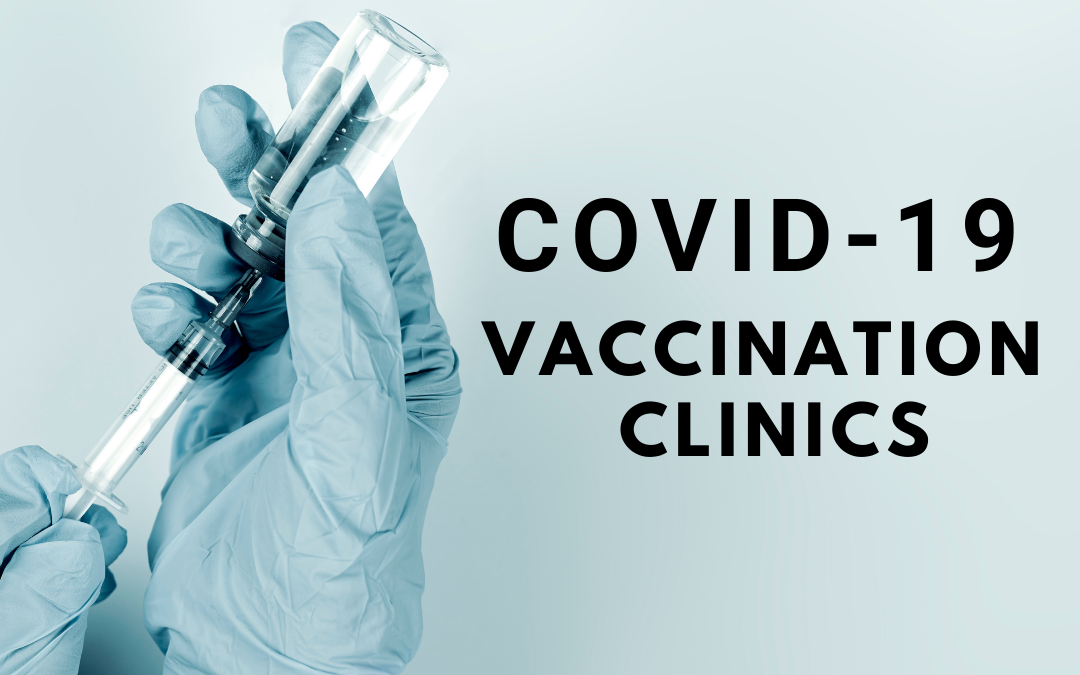 COVID-19 Vaccination Clinics Announced for February 17, 19, and 20, 2021